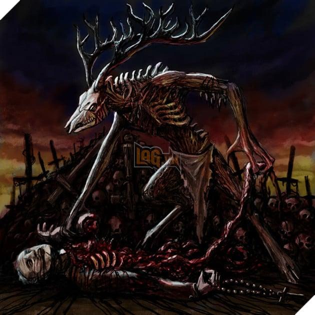 Truyền thuyết đáng sợ về quái vật ăn thịt người Wendigo 4