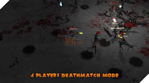 Yet Another Zombie Defense HD phòng thủ và chiến đấu cùng zombie trên nền tảng Switch 3