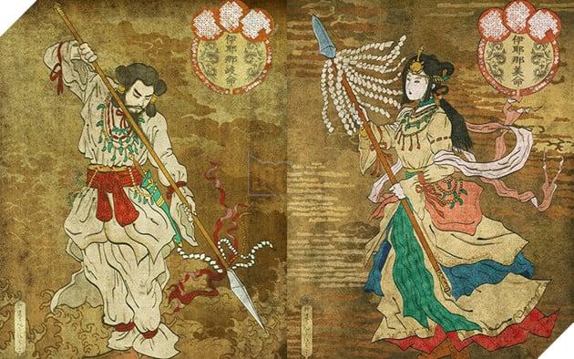 Thần thoại về Izanagi và Izanami, hai vị thần tạo ra sự sống trong truyền thuyết Nhật Bản