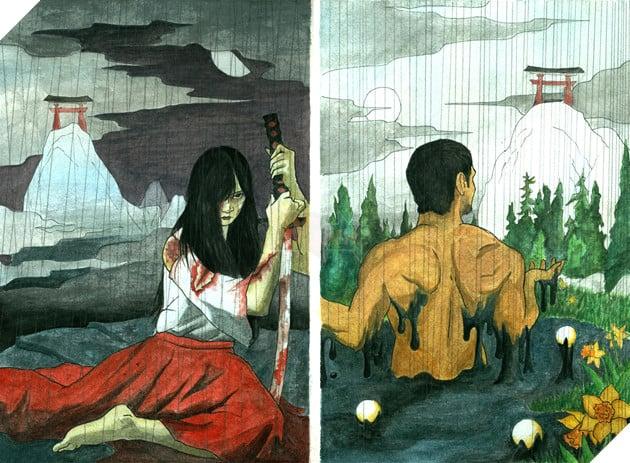 Thần thoại về Izanagi và Izanami, hai vị thần tạo ra sự sống trong truyền thuyết Nhật Bản 3