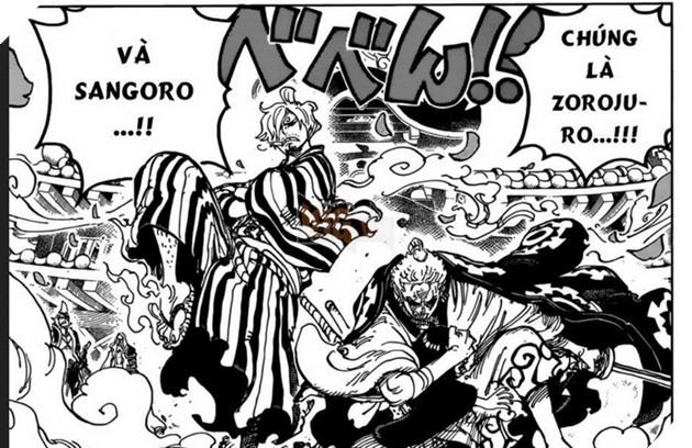 Dự đoán One Piece Chap 944: Zoro và Sanji đại náo Wano - Big Mom tới Udon 2