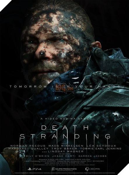 Death Stranding: Kojima công bố toàn bộ nhân vật trong game