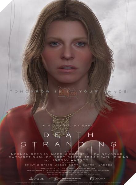 Death Stranding: Kojima công bố toàn bộ nhân vật trong game 4
