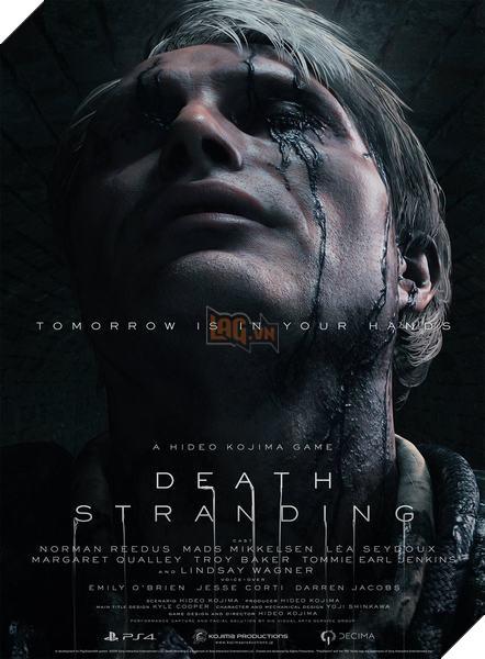 Death Stranding: Kojima công bố toàn bộ nhân vật trong game 2