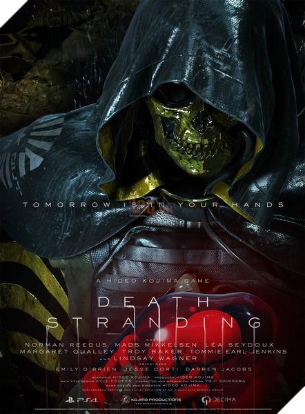 Death Stranding: Kojima công bố toàn bộ nhân vật trong game 6