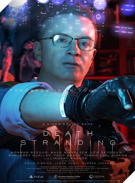 Death Stranding: Kojima công bố toàn bộ nhân vật trong game 9