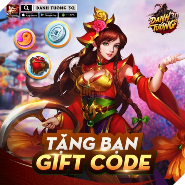 Danh Tướng 3Q - Tưng bừng ra mắt tặng hơn 200 Giftcode cho game thủ xưng bá giang hồ 2