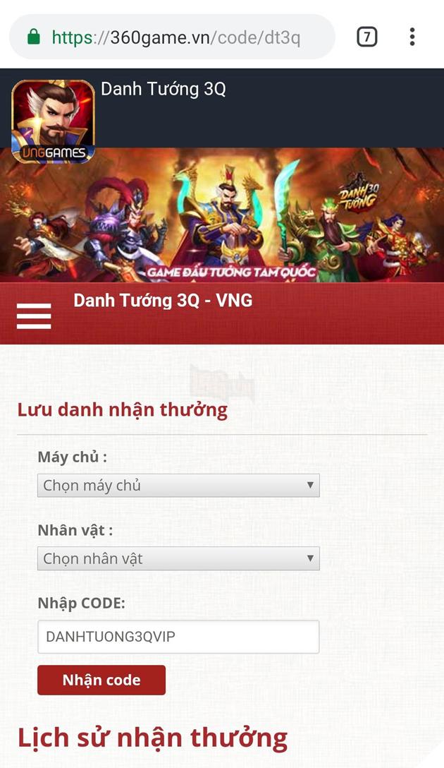 Danh Tướng 3Q - Tưng bừng ra mắt tặng hơn 200 Giftcode cho game thủ xưng bá giang hồ 4