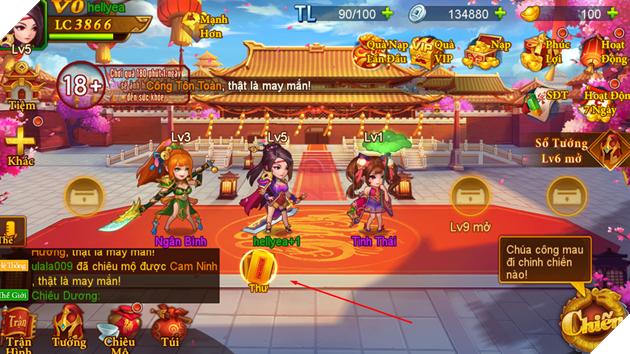 Danh Tướng 3Q - Tưng bừng ra mắt tặng hơn 200 Giftcode cho game thủ xưng bá giang hồ 5