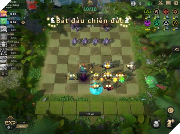 Auto Chess Mobile: Hướng dẫn chiến thuật và các cách đặt đội hình cờ trên bàn tốt nhất 4