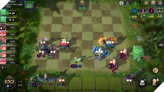 Auto Chess Mobile: Hướng dẫn chiến thuật và các cách đặt đội hình cờ trên bàn tốt nhất 3