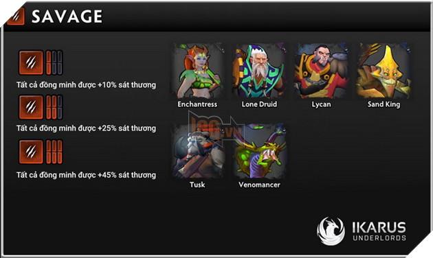 Dota Underlords: Tổng hợp tất cả buff Alliance quan trọng mà game thủ cần biết 8