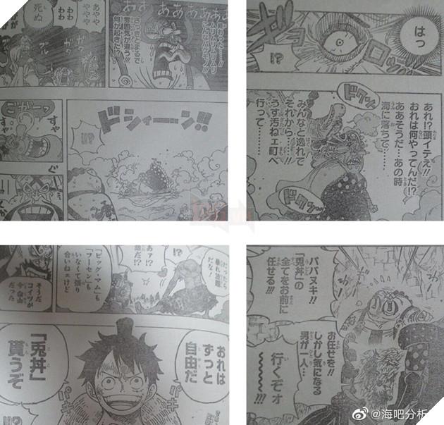 Spoilers One Piece Chap 947: Big Mom lấy lại trí nhớ, Luffy luyện xong chiêu mới 2
