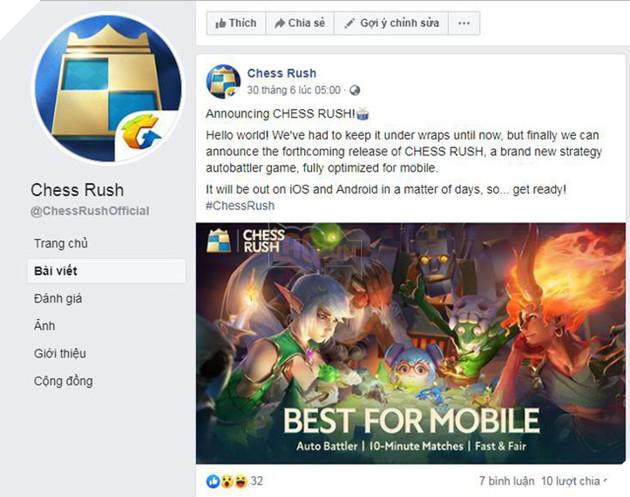 Chess Rush: Tựa game Auto Chess mobile mới được chính tay Tencent phát hành