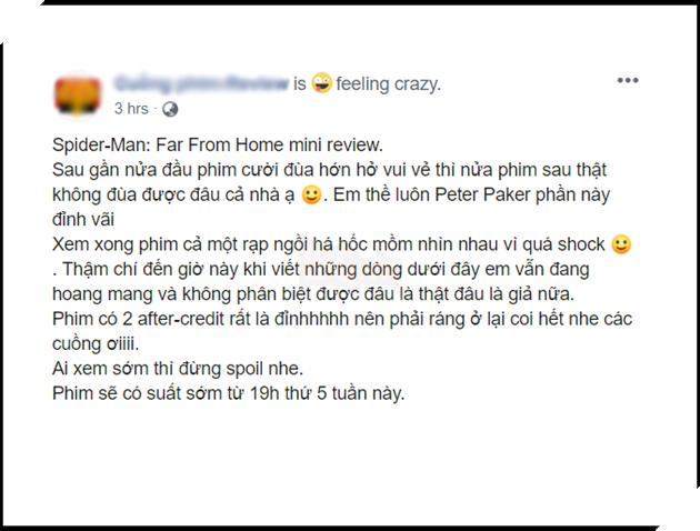 Tổng hợp đánh giá Spider-Man: Far From Home - Fan Việt khen không trượt phát nào 4
