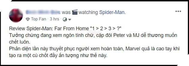 Tổng hợp đánh giá Spider-Man: Far From Home - Fan Việt khen không trượt phát nào 8
