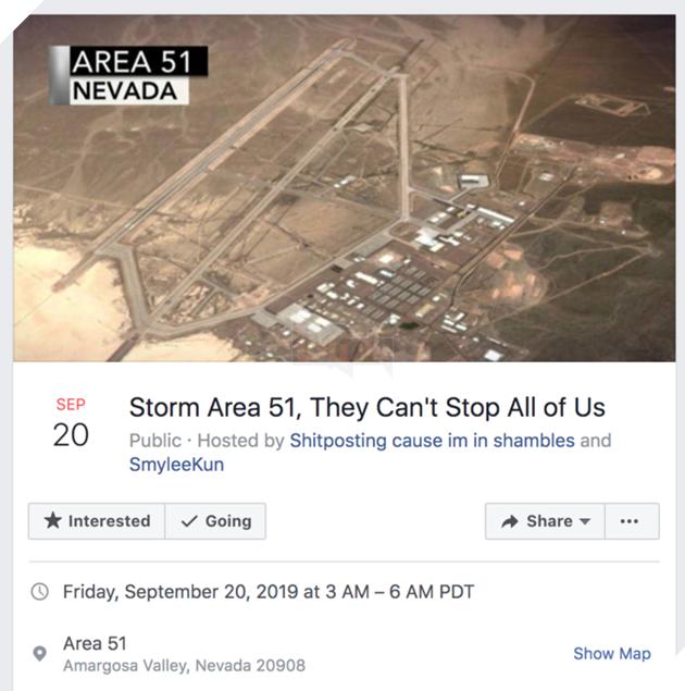 Meme Storm Area 51 hay Đột kích khu vực 51 là gì và tại sao nó lại nổi lên như vậy?