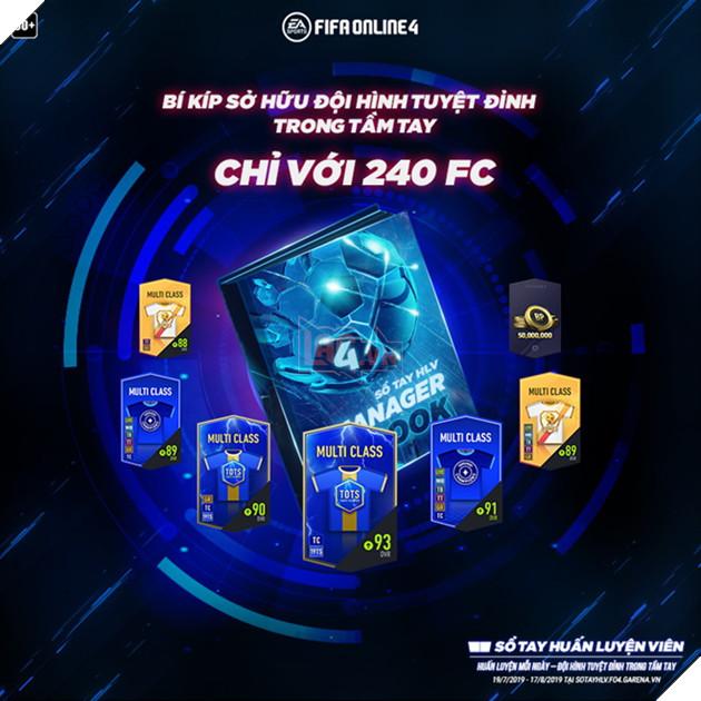 FIFA Online 4: Hướng dẫn sử dụng Sổ tay Huấn Luyện Viên Mùa 1 hiệu quả và nhiều quà nhất 2