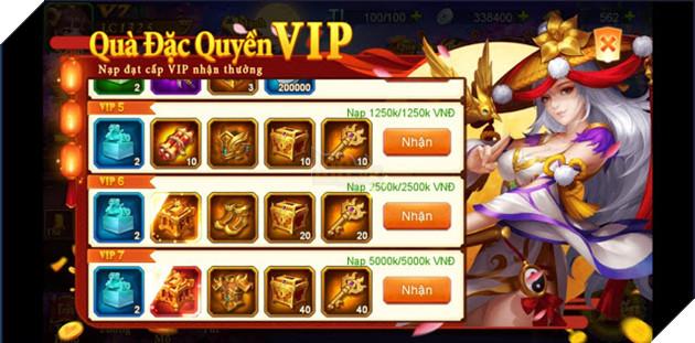 Danh Tướng 3Q VNG tặng quà giá trị lên đến 5 triệu đồng khi ra mắt server đặc biệt 3