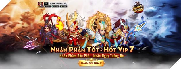Danh Tướng 3Q VNG tặng quà giá trị lên đến 5 triệu đồng khi ra mắt server đặc biệt 6