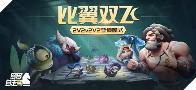 Auto Chess Mobile: Chế độ 2v2Vs2v2 mới lạ chuẩn bị ra mắt game thủ trong cập nhật tới