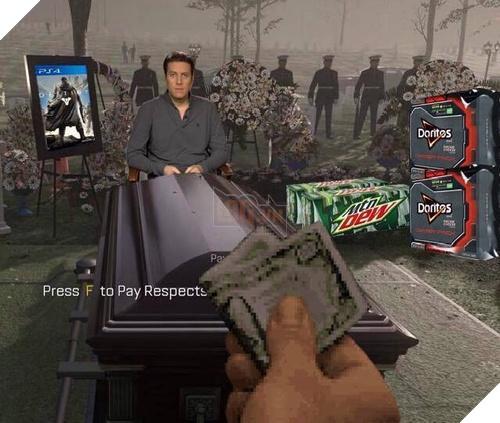 Doritos an Doritos am Press F to Pay Respects Call of Duty: Advanced Warfare pc game phenomenon