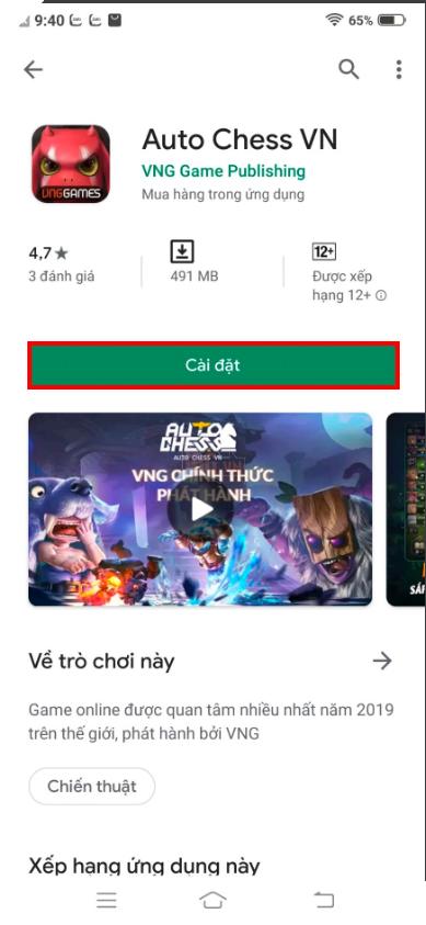 Auto Chess Mobile - Hướng dẫn cách tải phiên bản Việt Nam trên Android và IOS 2