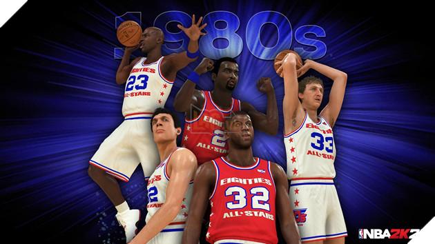 NBA 2k20 ra mắt bộ hình huyền thoại , chuẩn bị cho một mùa giải mới 2
