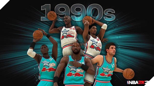 NBA 2k20 ra mắt bộ hình huyền thoại , chuẩn bị cho một mùa giải mới 3