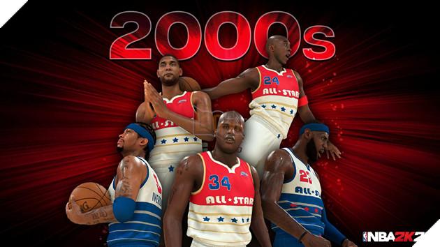 NBA 2k20 ra mắt bộ hình huyền thoại , chuẩn bị cho một mùa giải mới 4