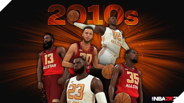 NBA 2k20 ra mắt bộ hình huyền thoại , chuẩn bị cho một mùa giải mới 5