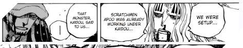 Scratchmen Apoo là ai - kẻ phản bội Kid và Hawkins trong tập One PIece 954 và sức mạnh của hắn là gì ? 2