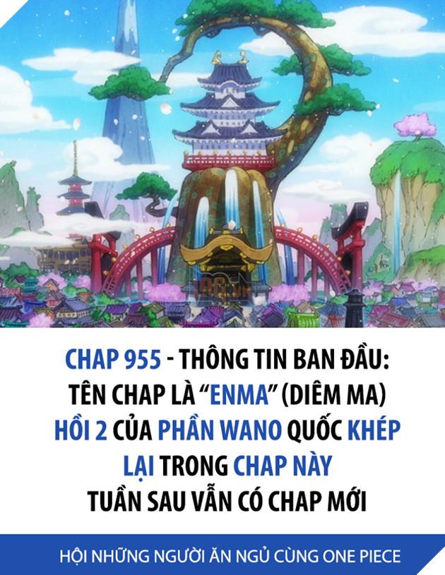 Spoilers One Piece Chap 955: Enma hé lộ, khép lại Hồi 2 tại Wano và tuần sau vẫn có truyện
