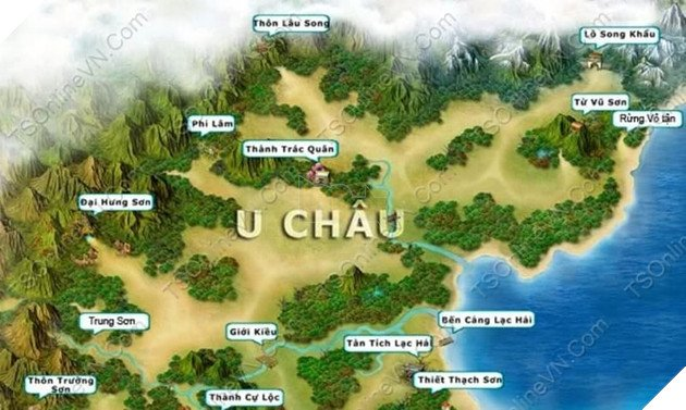 TS Online Mobile: Hướng dẫn Map train, Bãi train và vị trí tất cả các quái trong game 4