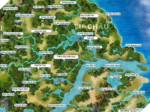 TS Online Mobile: Hướng dẫn Map train, Bãi train và vị trí tất cả các quái trong game 3