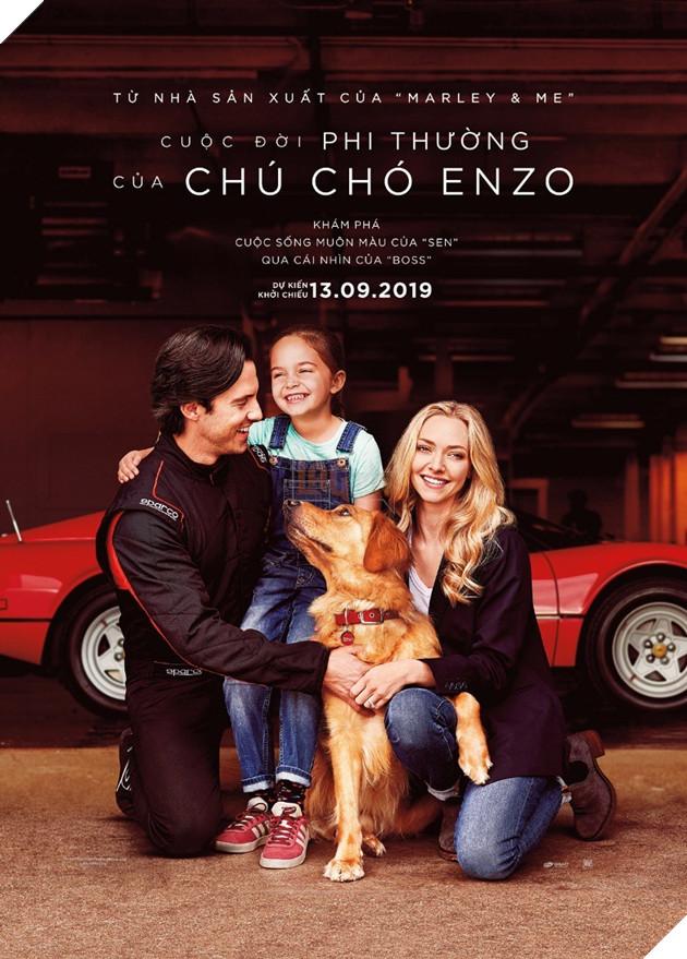 Cuộc đời phi thường của chú chó Enzo: Cuộc đời sẽ ra sao nếu được nhìn qua ánh mắt của một chú chó?