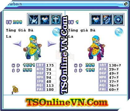 TS Online Mobile: Tổng hợp tất cả Pet Hệ Thủy chuyển sinh 1 và 2 đầy đủ nhất 5