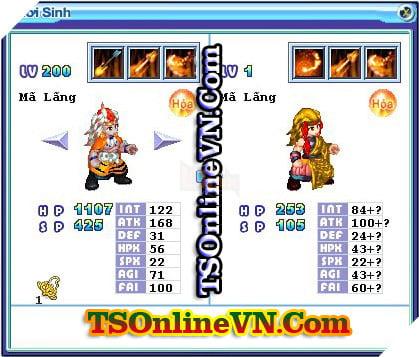 TS Online Mobile: Tổng hợp tất cả Pet Hỏa chuyển sinh 1 và 2 đầy đủ nhất 27