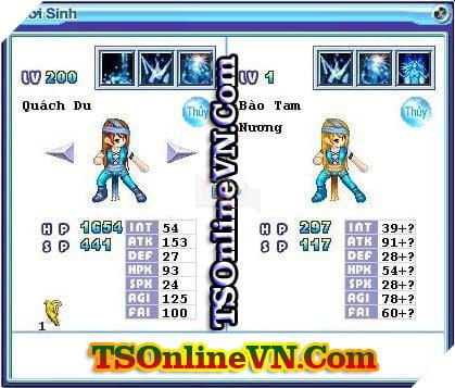 TS Online Mobile: Tổng hợp tất cả Pet Hệ Thủy chuyển sinh 1 và 2 đầy đủ nhất 21