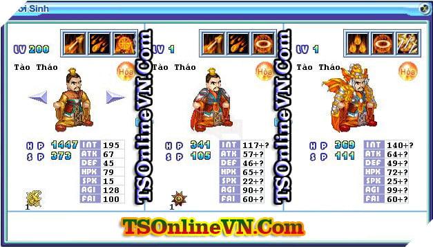 TS Online Mobile: Tổng hợp tất cả Pet Hỏa chuyển sinh 1 và 2 đầy đủ nhất 2