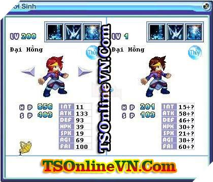 TS Online Mobile: Tổng hợp tất cả Pet Hệ Thủy chuyển sinh 1 và 2 đầy đủ nhất 84
