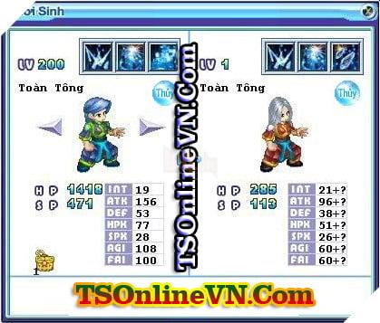 TS Online Mobile: Tổng hợp tất cả Pet Hệ Thủy chuyển sinh 1 và 2 đầy đủ nhất 39