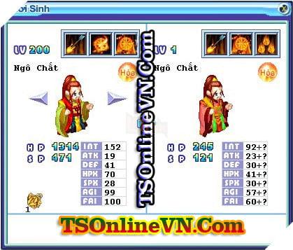 TS Online Mobile: Tổng hợp tất cả Pet Hỏa chuyển sinh 1 và 2 đầy đủ nhất 62