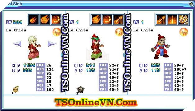 TS Online Mobile: Tổng hợp tất cả Pet Hỏa chuyển sinh 1 và 2 đầy đủ nhất 83