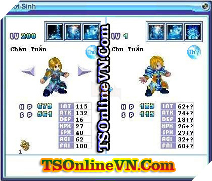 TS Online Mobile: Tổng hợp tất cả Pet Hệ Thủy chuyển sinh 1 và 2 đầy đủ nhất 71