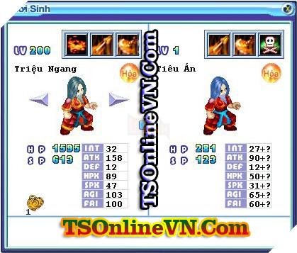 TS Online Mobile: Tổng hợp tất cả Pet Hỏa chuyển sinh 1 và 2 đầy đủ nhất 38
