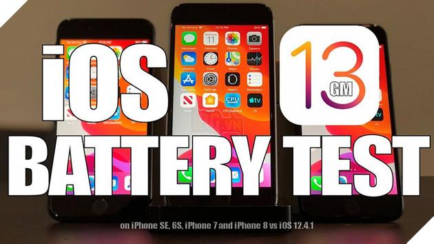 iOS 13 đã cải thiện thời lượng pin so với iOS 12.4.1 chưa?  2