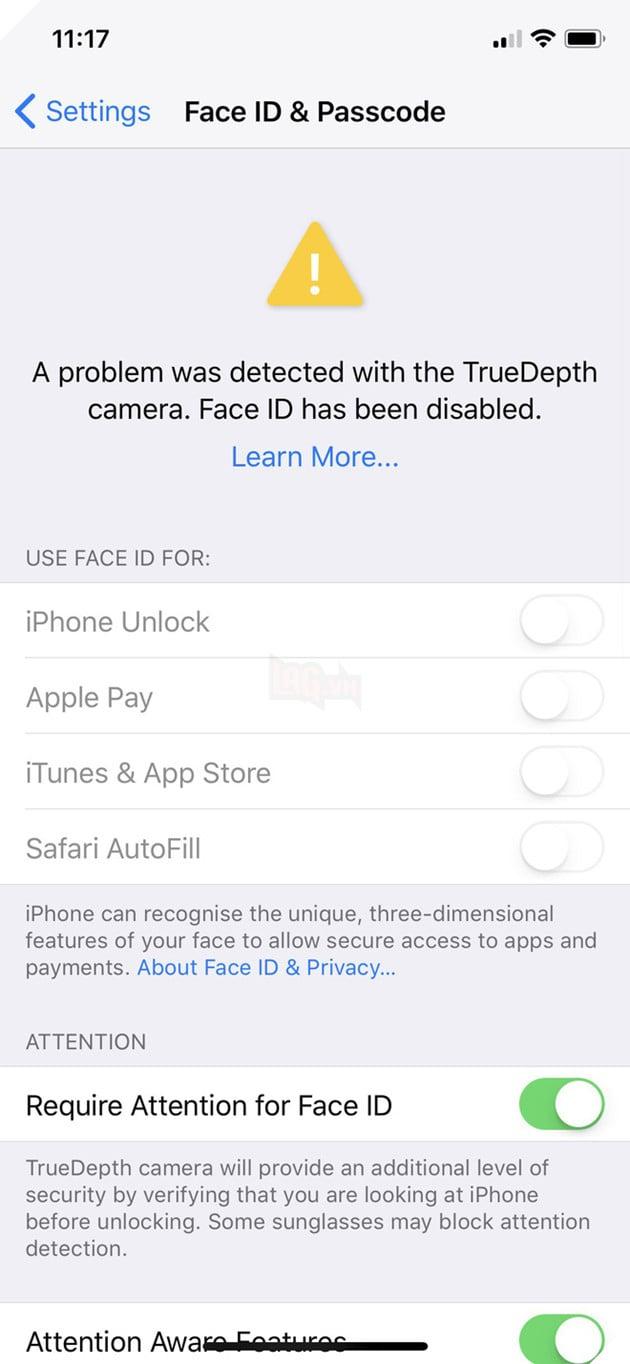 Một số lỗi người dùng iPhone X thường gặp và cách khắc phục  4