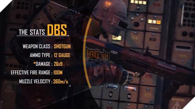 Tìm hiểu về khẩu DBS - Khẩu shotgun gây sát thương khủng trong cự ly 100m 2