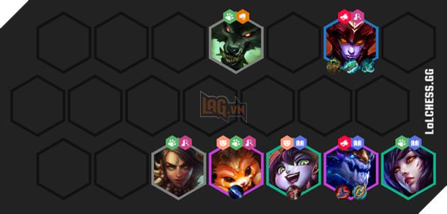 Đấu Trường Chân Lý: Hướng dẫn đội hình Rồng - Hóa Hình siêu mạnh ở giai đoạn giữa và cuối trận 4